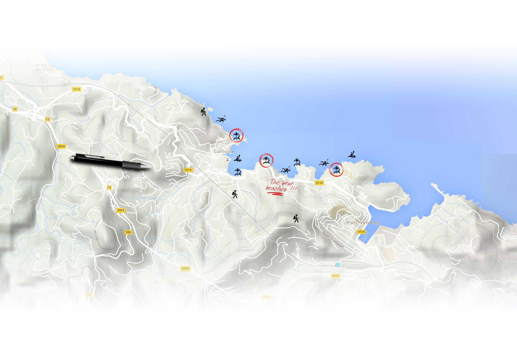 Tourism in CollioureCte Vermeille